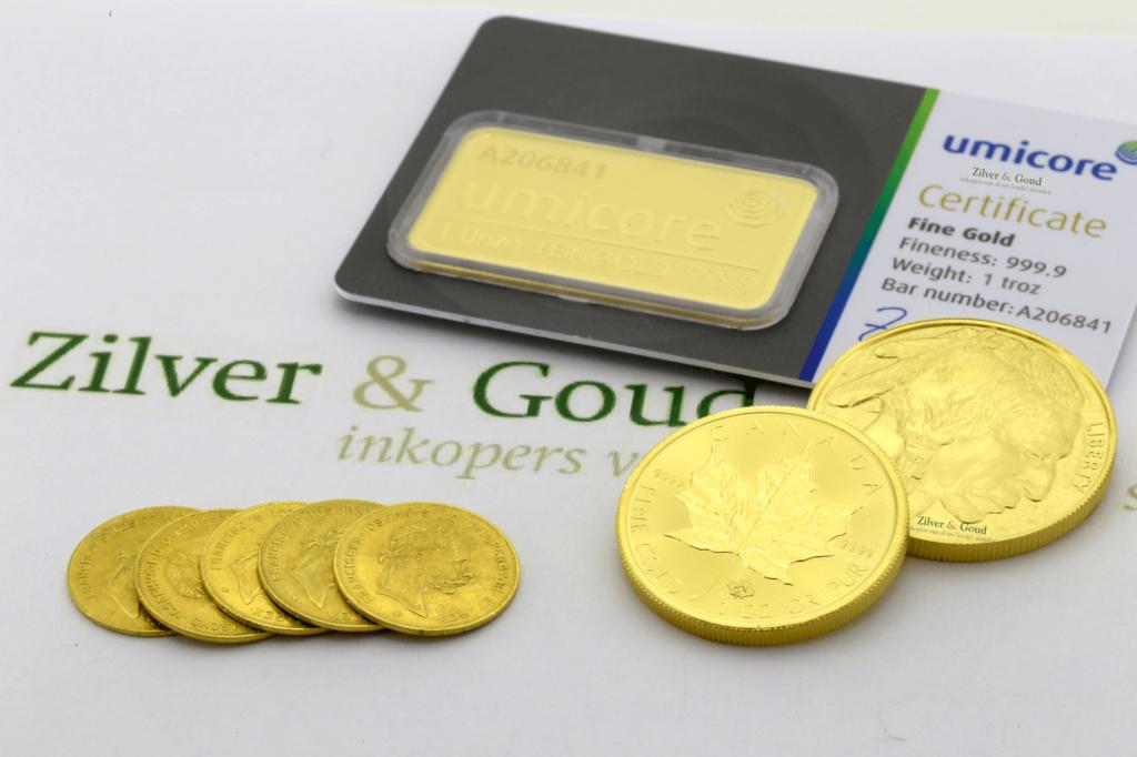 Gouden-munten-en-baren-verkopen